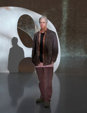 Tony Oursler (Photo via   sculpture-network.org  )