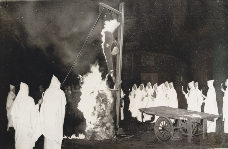 Tony Oursler's personal archive  University of Toronto students burn an effigy of Joseph McCarthy, 1953