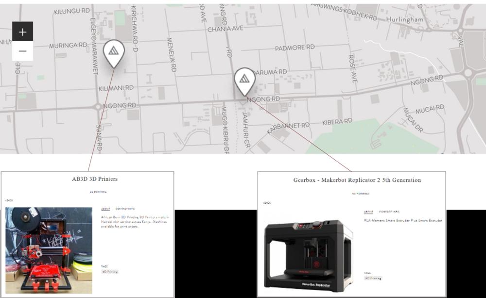 Concept 1: Manufacturer Map -