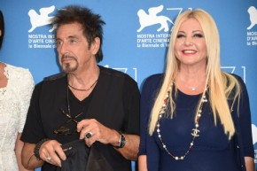 Monika Bacardi with Al Pacino