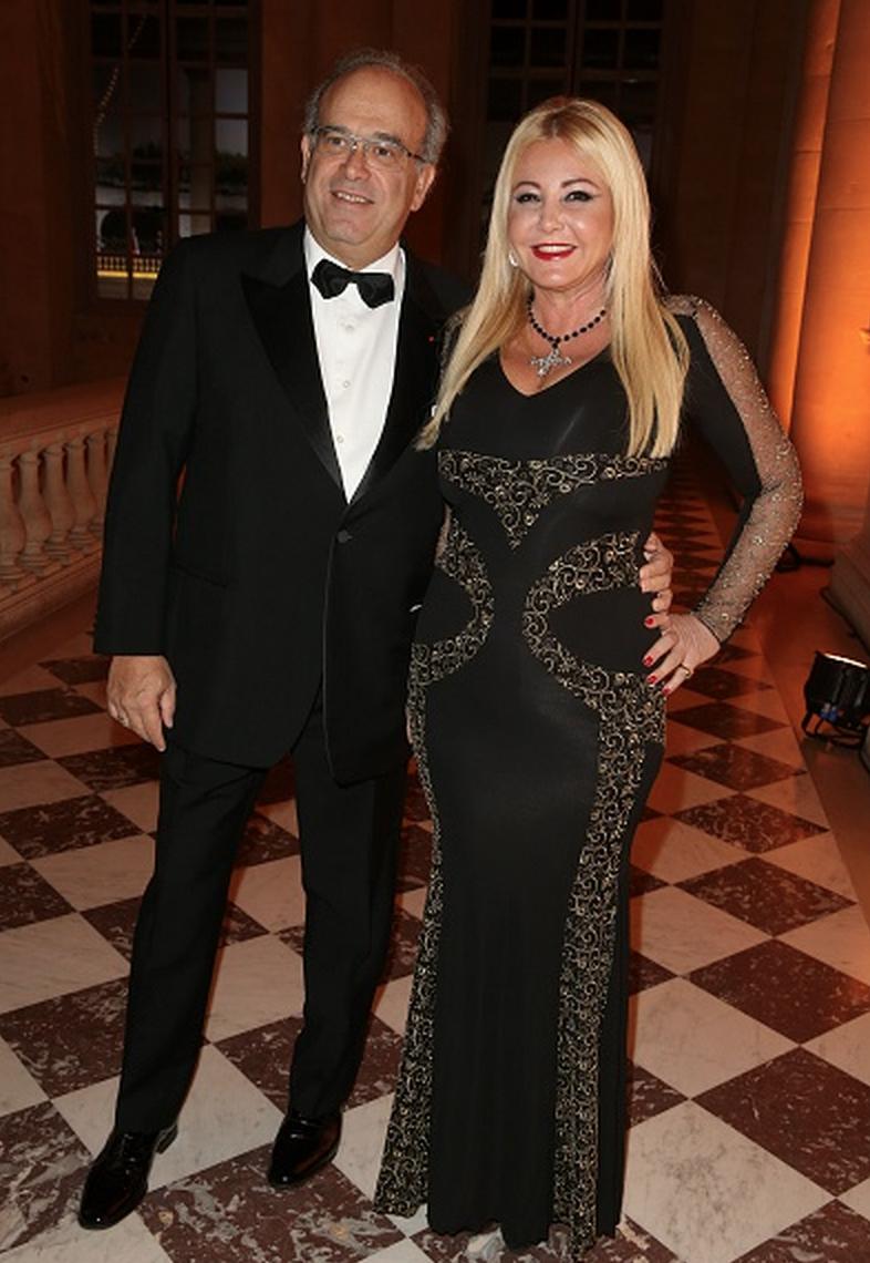 Lady Monika Bacardi at Gala diner Fondation AVEC in Paris 2015