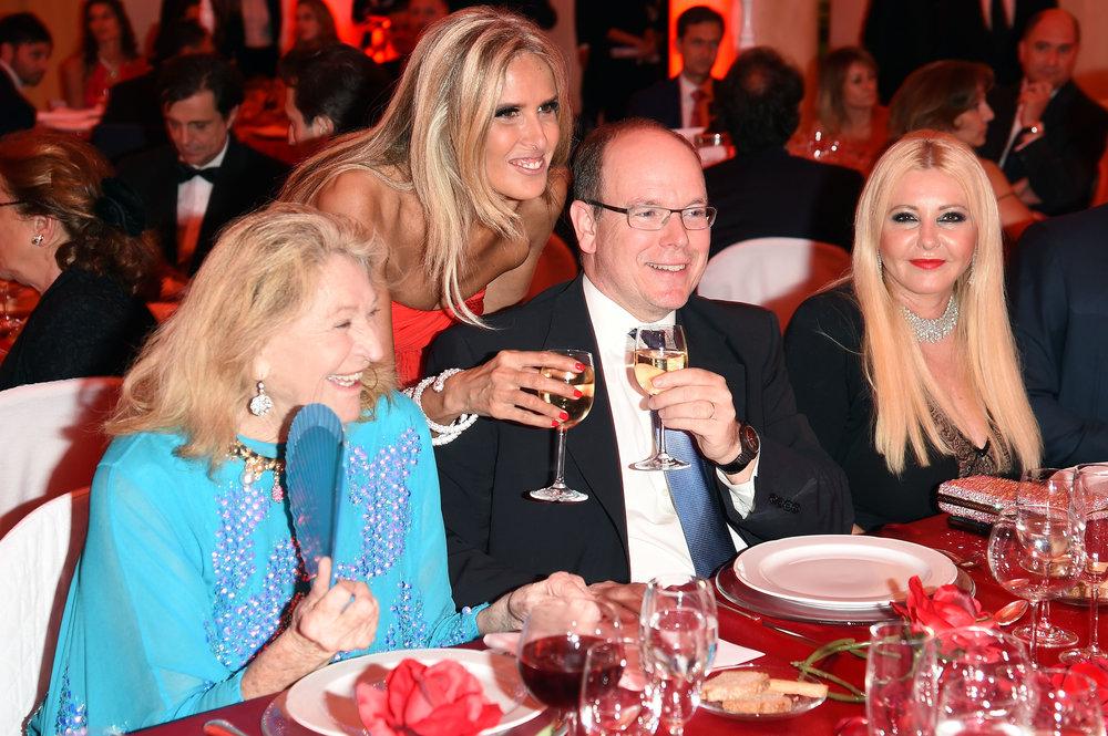 Prince Albert II Of Monaco Foundation Gala Dinner