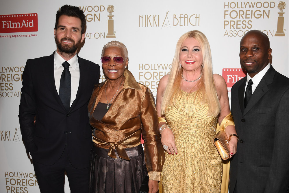 The Hollywood Foreign Press Association Honour Film aid International - The 69th Annual Cannes Film Festival Andrea Iervolino, Dionne Warwick, Monika Bacardi