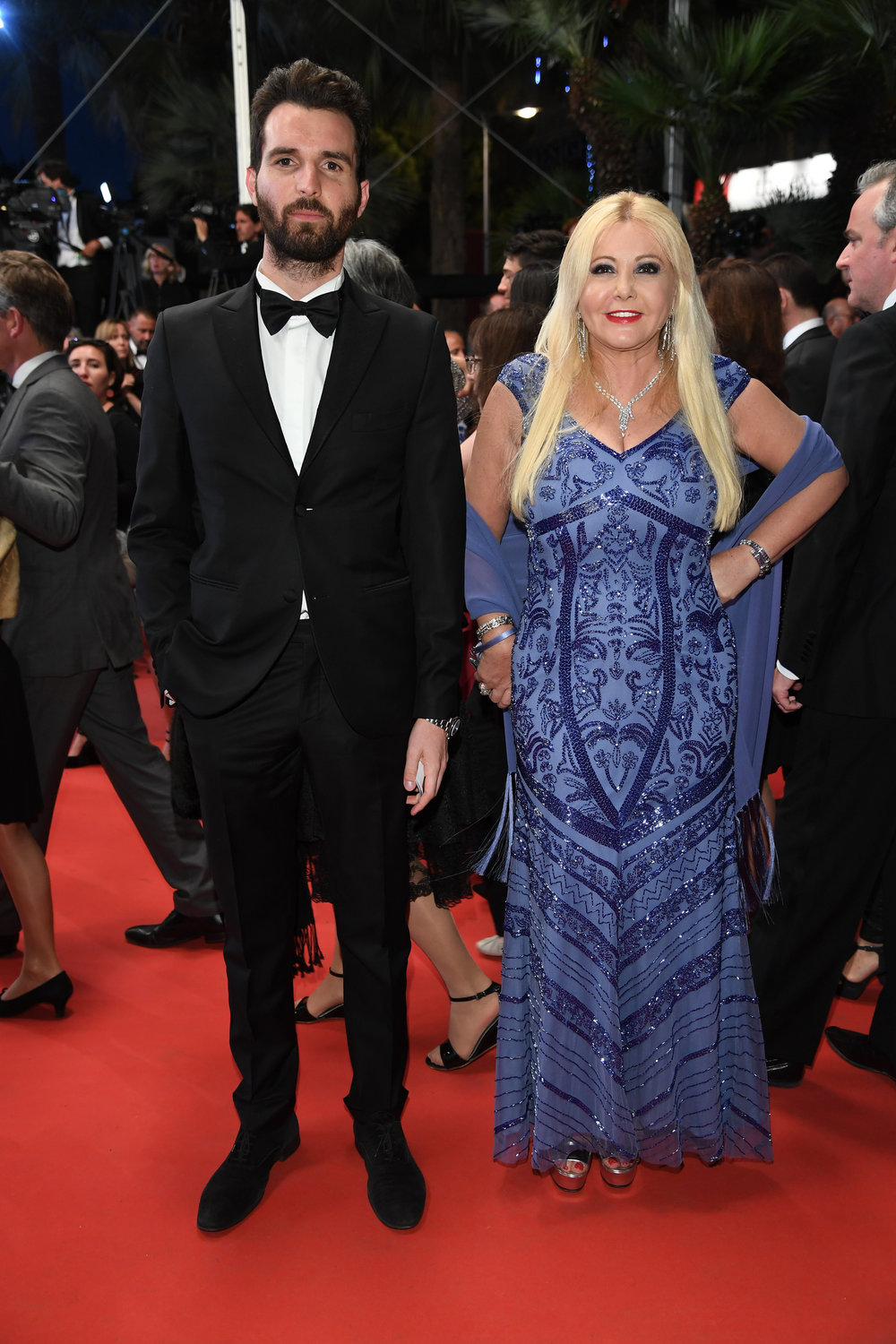 'Hands Of Stone' - Red Carpet Arrivals - The 69th Annual Cannes Andrea Iervolino, Monika Bacardi
