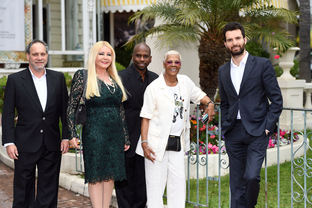 Dionne Warwick with AMBI Group At The 69th Annual Cannes Film, Monika Bacardi