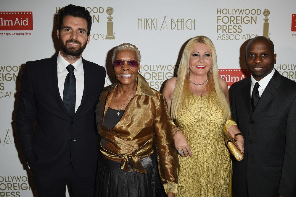 Monika Bacardi at The Hollywood Foreign Press Association Honour Filmaid International - Cannes Film Festival