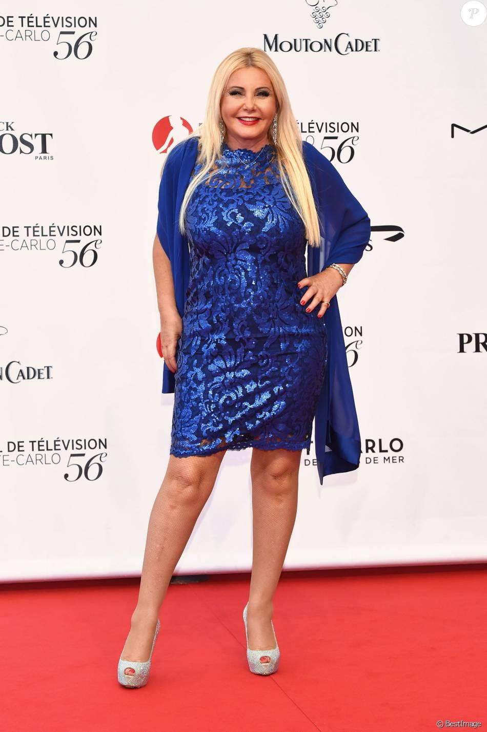 Lady Monika Bacardi at TV Festival Monte Carlo