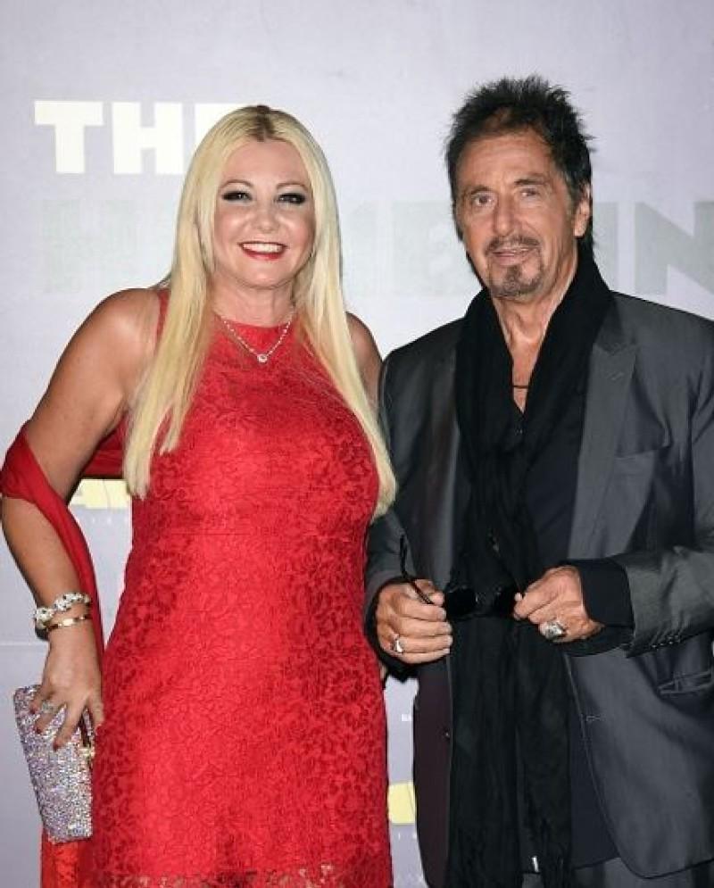 Monika Bacardi and Al Pacino at Venice Film Festival
