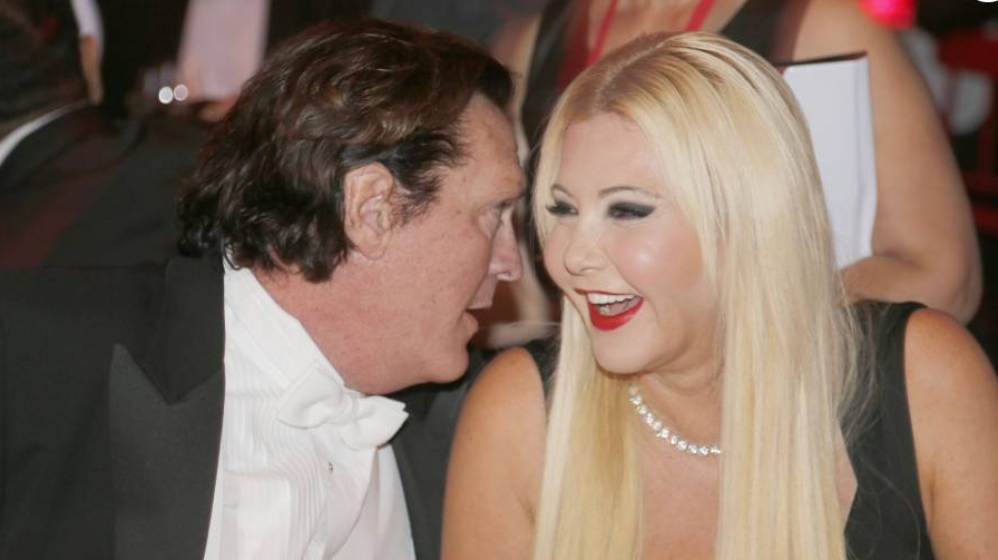Lady Monika Bacardi and Michael Madsen