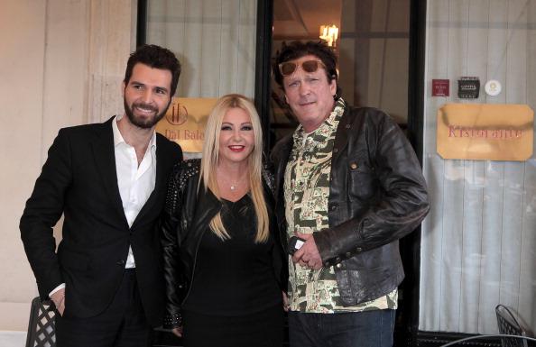 Andrea Iervolino, Lady Monika Bacardi and Michael Madsen