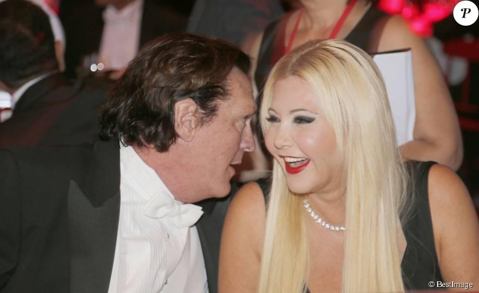 Michael Madsen and Lady Monika Bacardi at AMBI Benefit Gala
