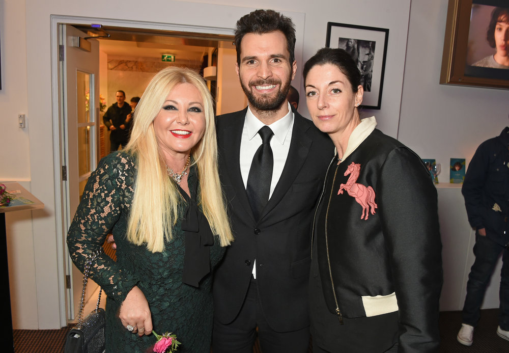 Monika Bacardi, Mary McCartney and Andrea Iervolino, attend a cast and crew screening of 'This Beautiful Fantastic' at BAFTA