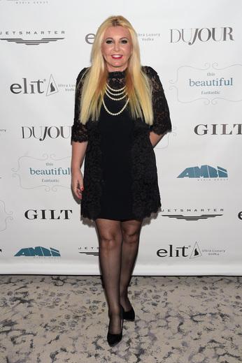 Monika Bacardi attends 'This Beautiful Fantastic' screening at SVA Theatre on December 19 2016 in New York City 'This Beautiful Fantastic' Pre Cocktail Party And Screening
