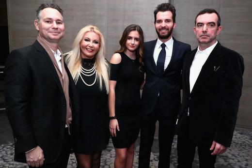 Jason Binn, Monika Bacardi, Maria Luisa Bacardi, Andrea Iervolino and Simon Aboud attend the screening of 'This Beautiful Fantastic'