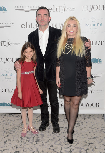 Actress Lola Sultan, film director Simon Aboud and Monika Bacardi attend the screening of 'This Beautiful Fantastic'
