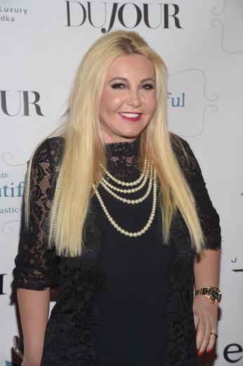 Monika Bacardi attends DuJour Media, JetSmarter's Ronn Torossian, Gilt's Jonathan Greller, Jason Binn & elit Vodka's celebration of 'This Beautiful Fantastic' at the Park Hyatt