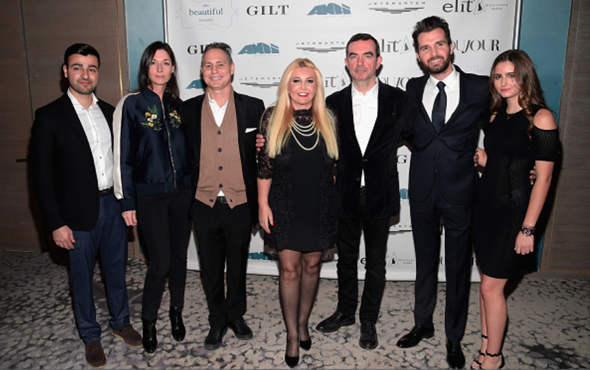 Sergey Petrossov, Mary Mccartney, Jason Binn, Monika Bacardi, Simon Aboud, Andrea Iervolino, And Maria Luisa Bacardi At 'This Beautiful Fantastic' Screening