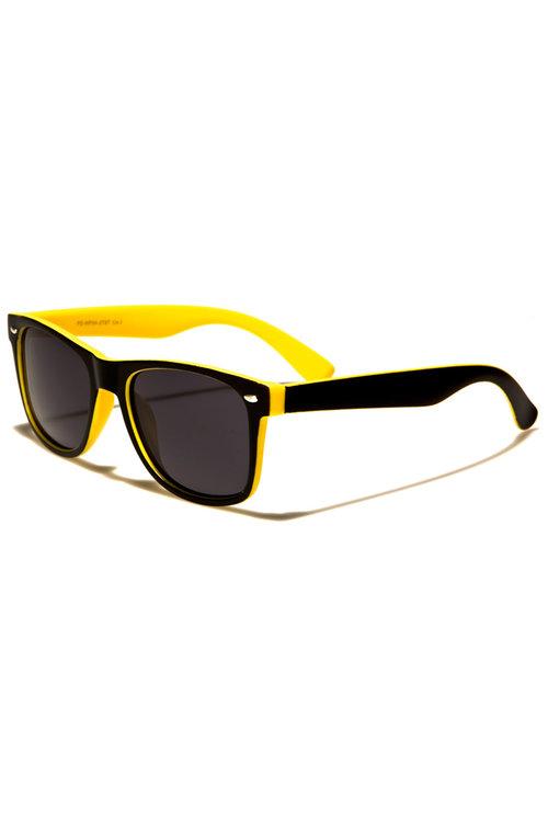 4cdb3378f polarized wayfarer sunglasses - black/yellow — Jax Men's Clothing ...