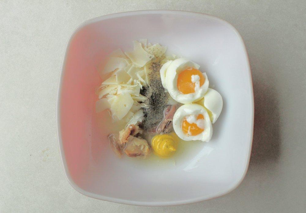 Caesar Salad Prep