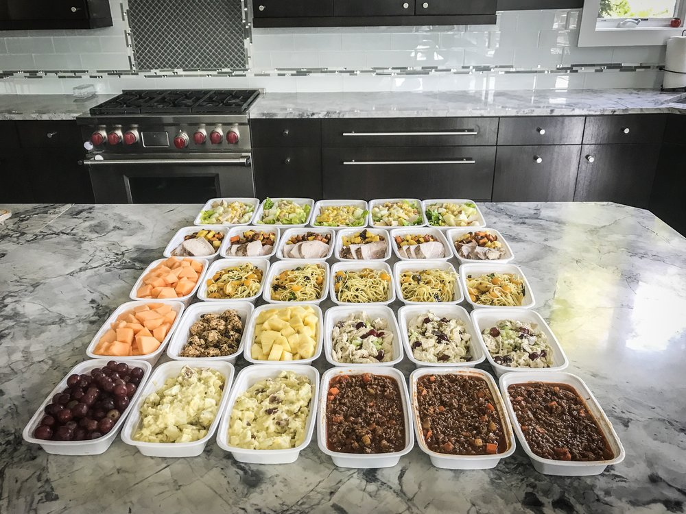 Meal Prep  - Can you cook all my meals?Correct, if your have certain physique goals I can help you achieve them with individually portioned meals tailored to your exact needs.What if I have dietary restrictions/aversions?No Problem at all, I can work around any dietary needs.What if I don't know what I need to eat to be