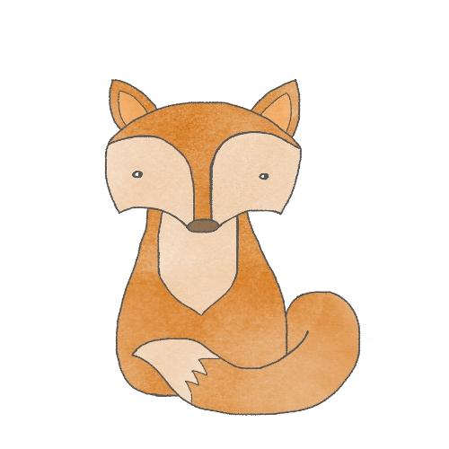 modern woodland fox