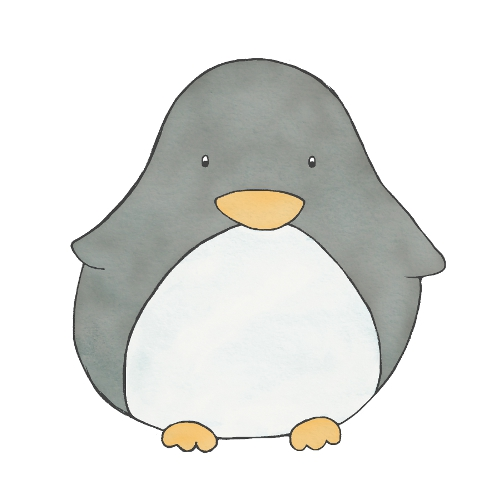 happy penguin