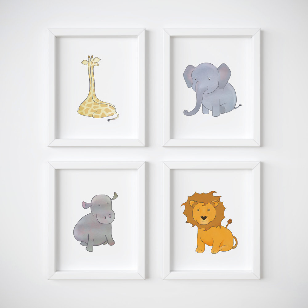 Love these prints. Perfect for the nursery. - irit lockhart [from etsy]