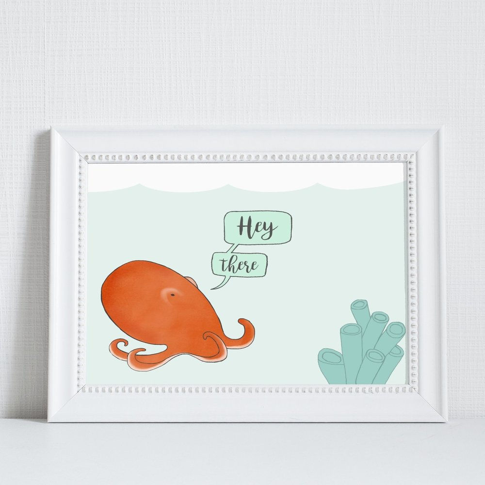 This piece makes me smile! Perfect in my kids bathroom. Thanks so much! Nicely packaged and quick delivery too! - Annstory23 [from etsy]