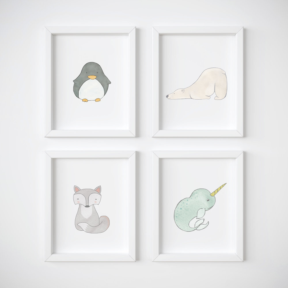 nursery prints & wall art