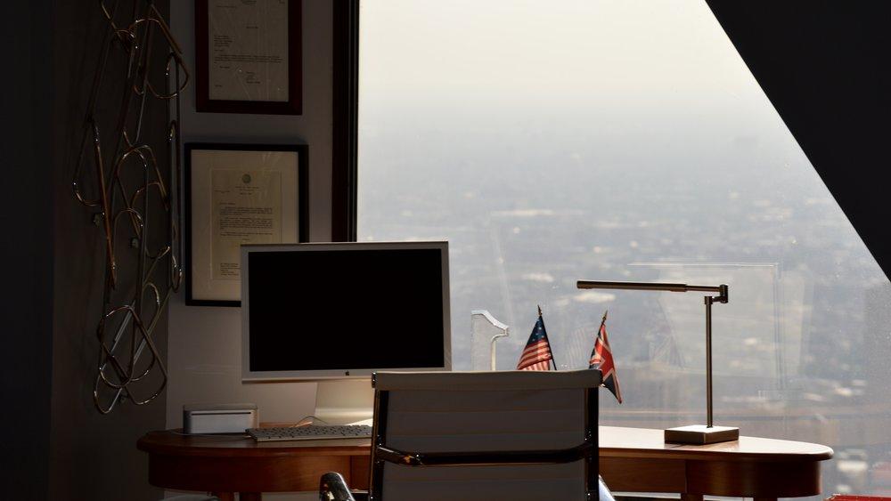 'Hardly Workin' Office Nook