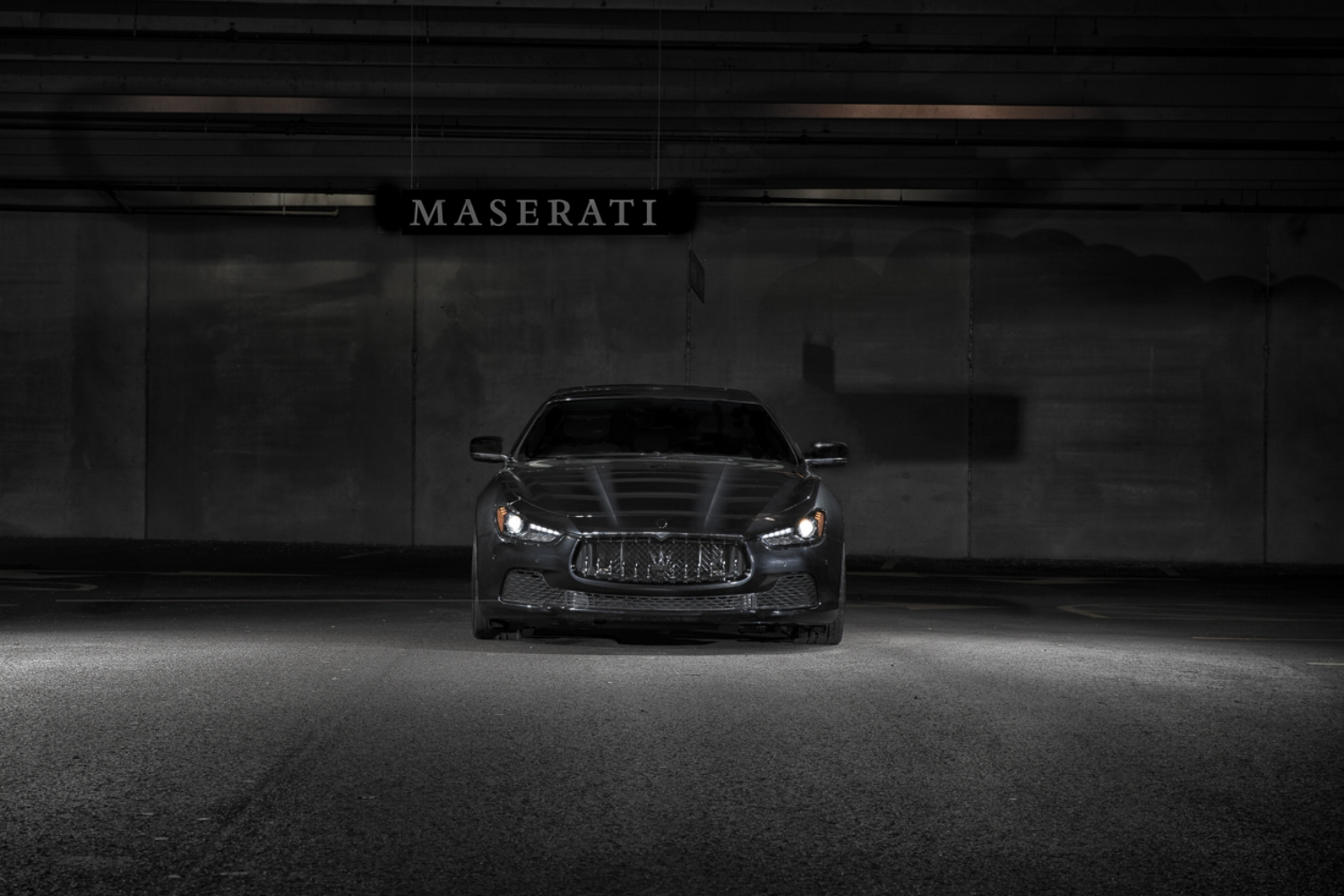 maserati ghibli vossen wheels — the auto art