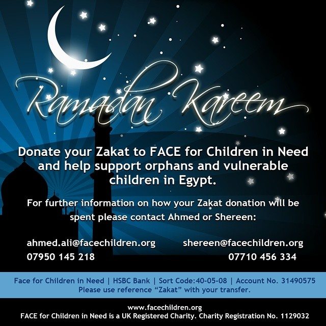 Donate your Zakat today to support orphans and street children in Egypt. https://mydonate.bt.com/charities/faceforchildreninneed