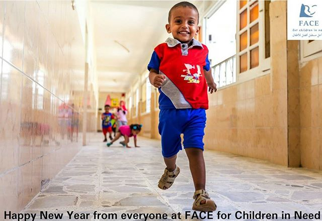 Happy New Year to all our supporters and followers! #FACEchildren #TogetherWECan