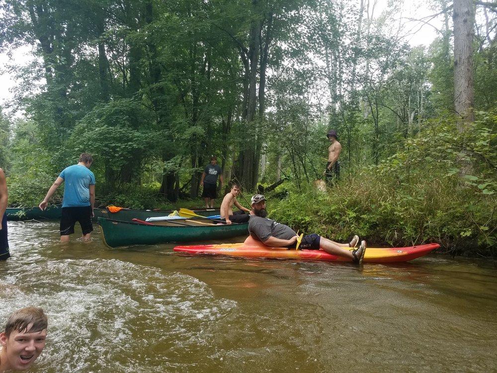 Football Canoe Trip 02