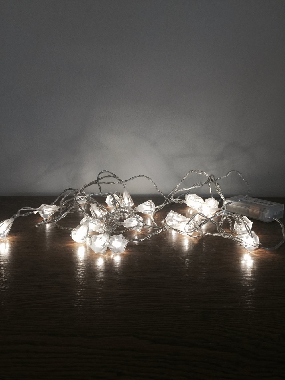 Gem string lights £7.50 each to hire