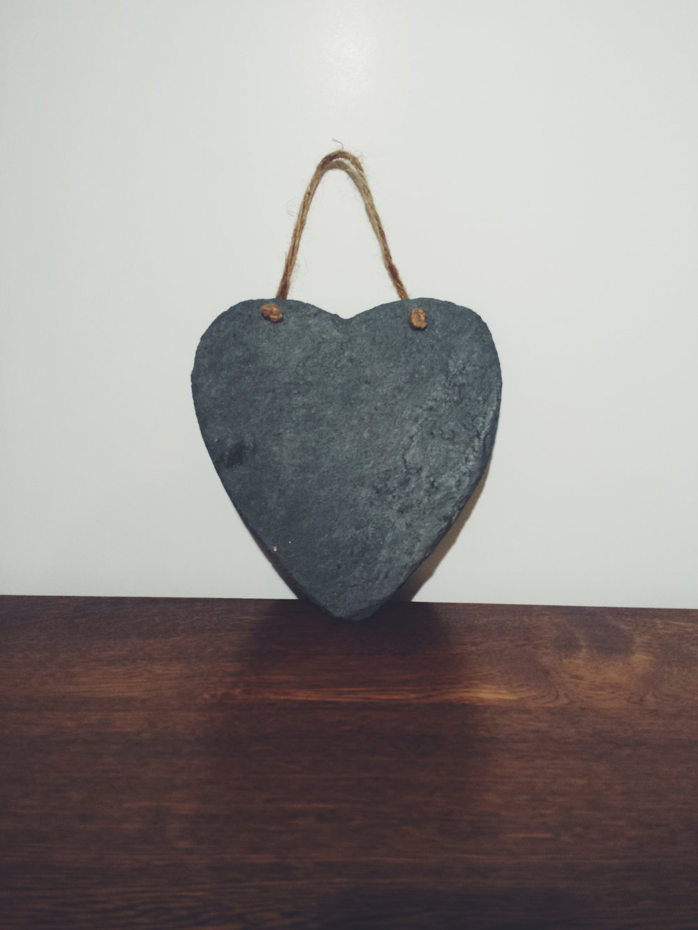 Slate heart £5 each to hire
