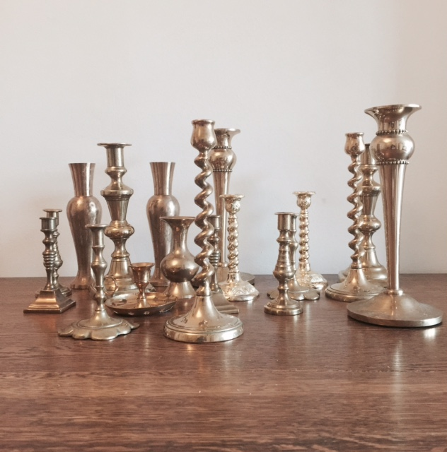 Candlesticks (Various sizes) £2 each to hire