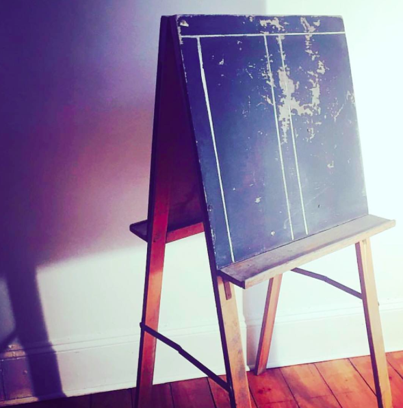 Vintage chalkboard £20 to hire (choice of message)