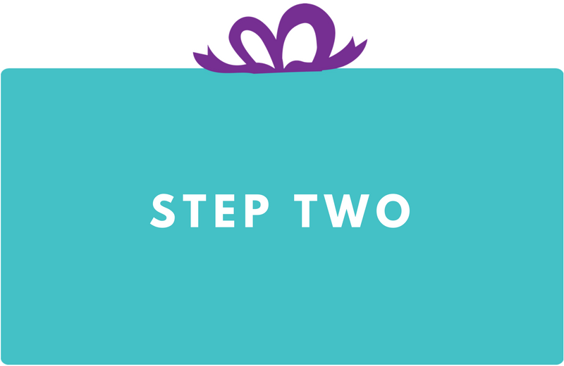 Surprise Gift Co. Blog : Step Two
