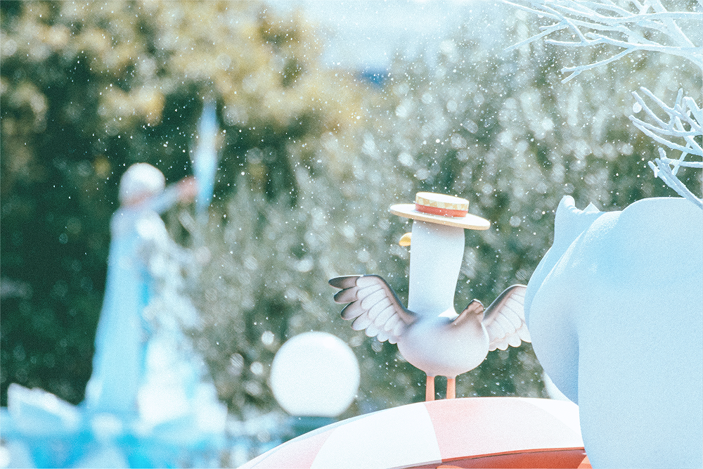 We're at the halfway point of our vacation in Japan and we've finally reached the (bittersweet) ending of Frozen Fantasy, A Table is Waiting, and the Year of the Wish. We knew better than to brave the INTENSE crowds at Tokyo DisneySea in the daytime. Today was about saying goodbye to our favorite Frozen event ever. Disclaimer: I took 7640 photos on this day, but these are just highlights