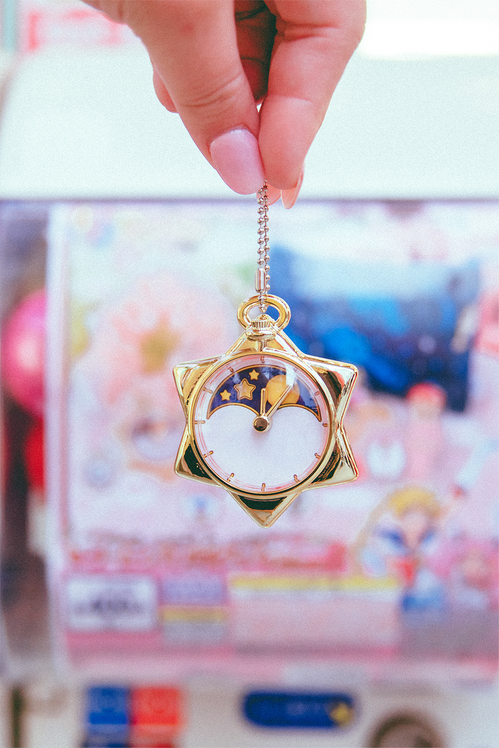 It only took about 6 tries to get Mamoru's pocket watch from Sailor Moon...