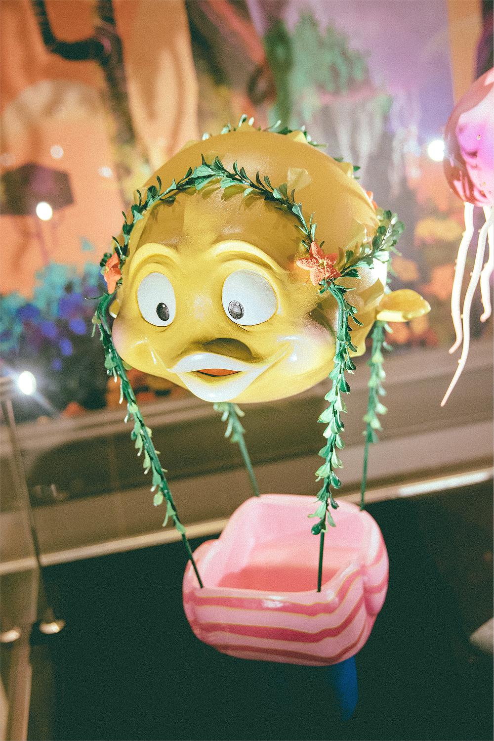 Blowfish Balloon Race from Mermaid Lagoon