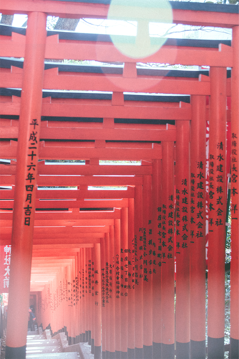 Of course, the Hie Shrine famous Torii Passage was the main reason for our visit.