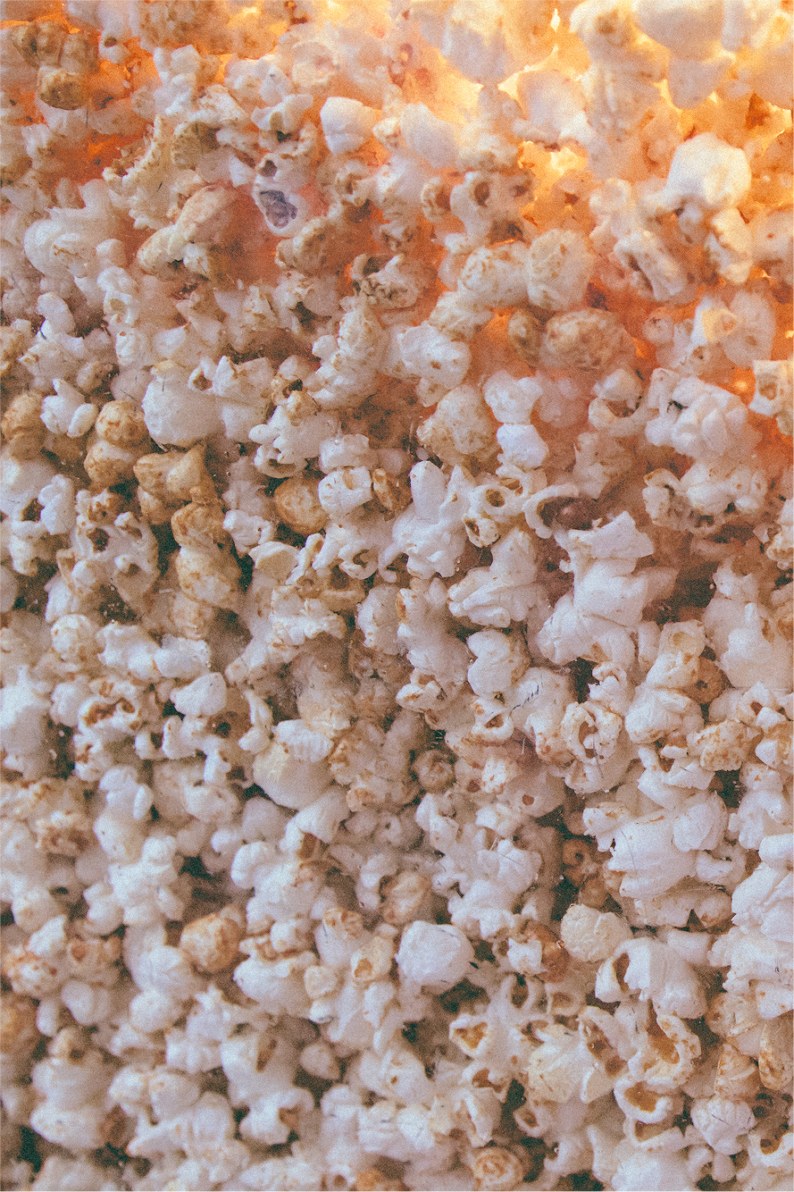 And here's my favorite: the unbeatable soy sauce popcorn. Yes, I do plan to make a separate post about JUST popcorn!