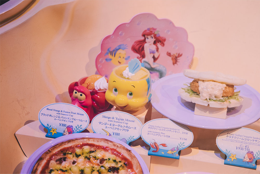 I will need to make a separate post about Sebastian's Calypso Kitchen, but I'd recommend visiting this as well. While I fully believe there are better places to eat at Tokyo DisneySea, this place has its charm. The creamy scallop sandwich seemed to be the popular item there and I enjoyed the seafood chowder, as well.