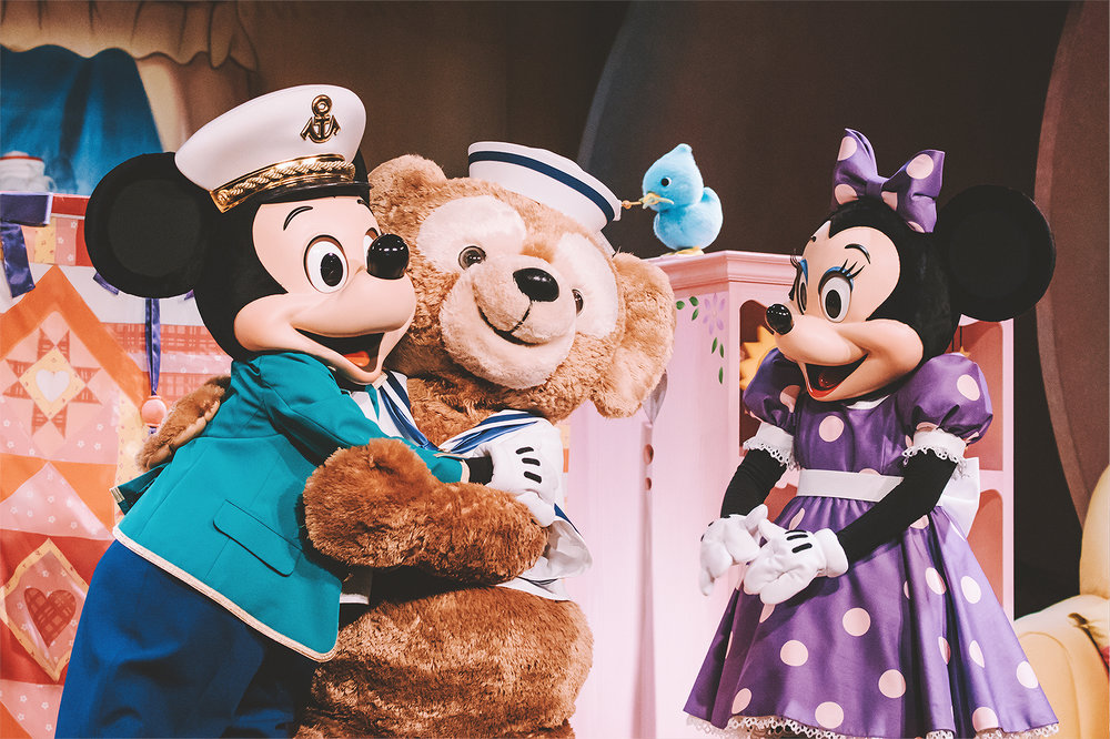 """Mickey and Minnie work together this time and focus all their love on creating the perfect friend for Duffy. This begs the question, """"Are Shellie May and Duffy siblings?"""""""