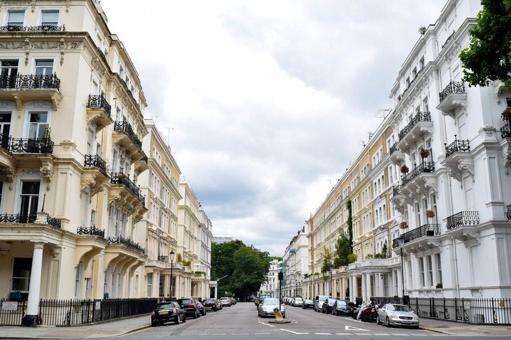 Neighborhood block of South Kensington