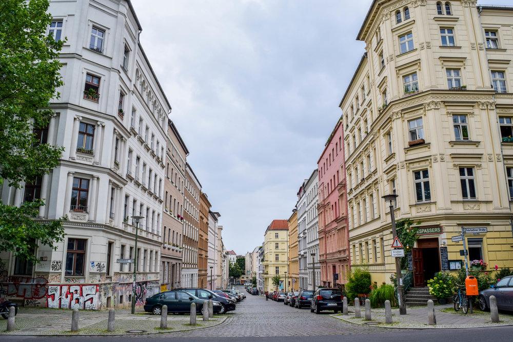 Felt at home in Berlin