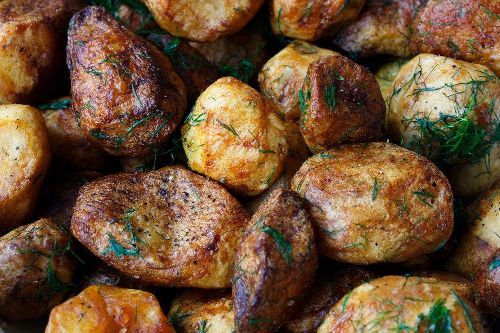 8. Potatoes -