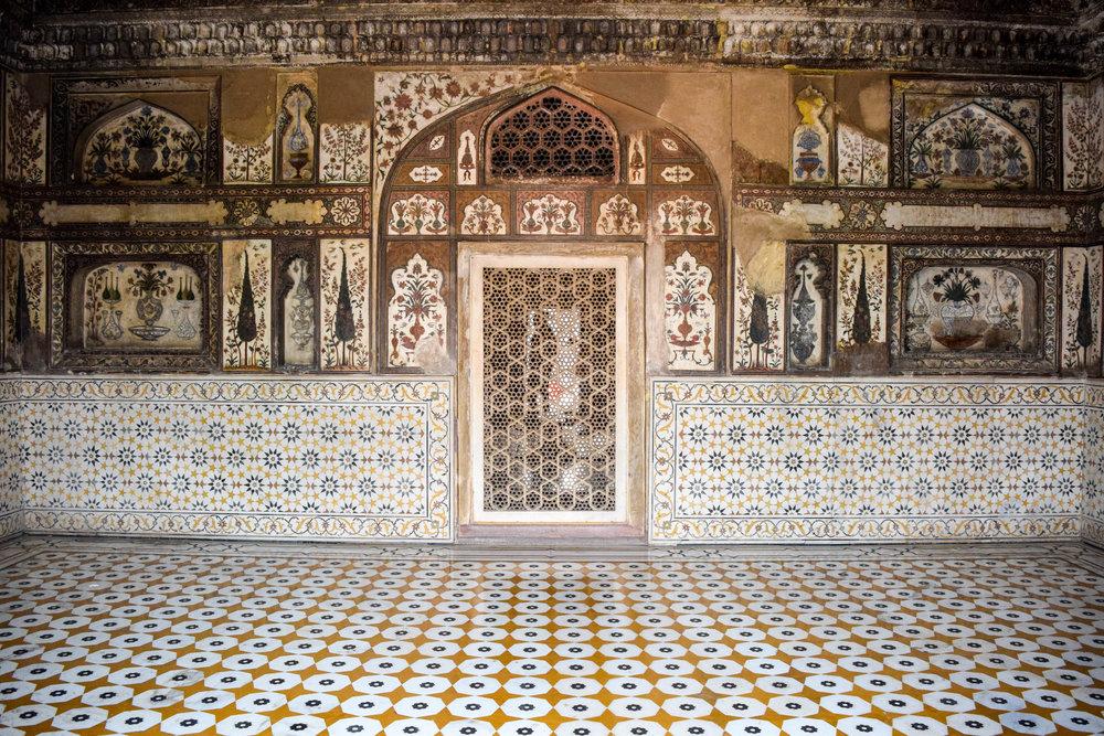 Interior design goals for wealthy eccentrics, from the Baby Taj.